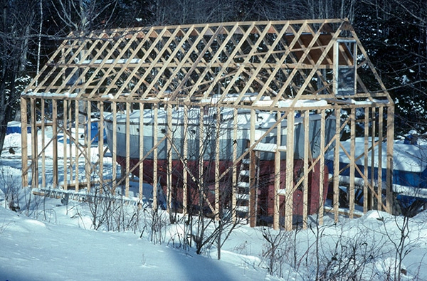 temporary restoration frame