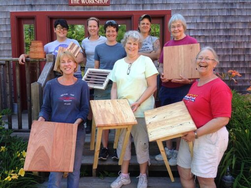 womens woodworking class