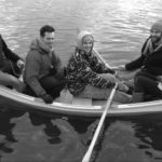 5 apprentices in a small rowboat