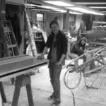 two apprentices in the shop